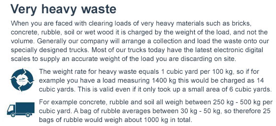 Affordable Disposal of Heavy Waste in Bow